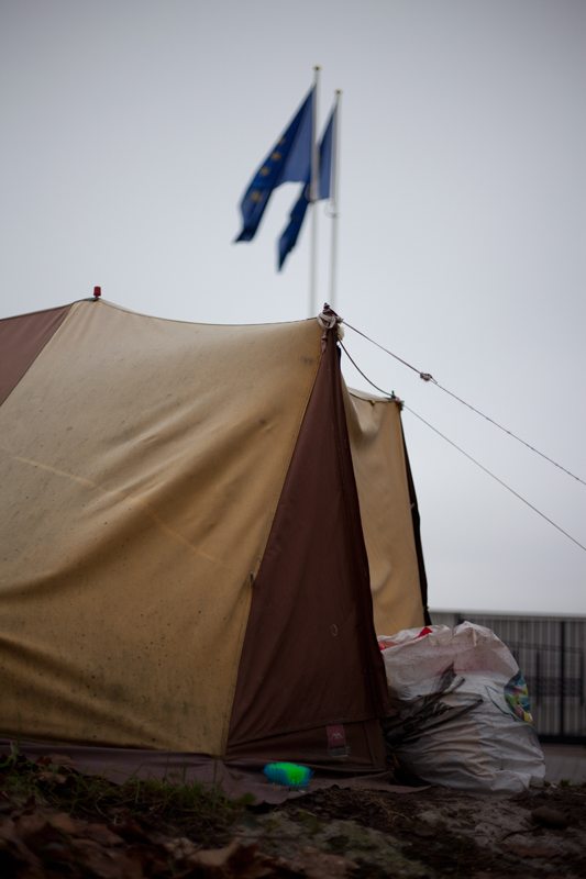 Campements de l'Europe, 2012 – 2013