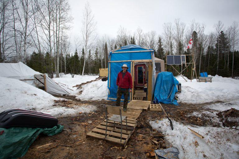 Le camp à l'hiver, 2017 - 2018
